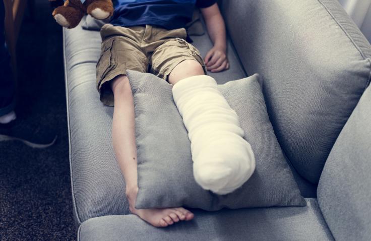 kind met letselschade door ongeval